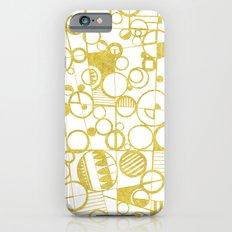 Golden Doodle circles iPhone 6s Slim Case