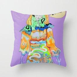 DEFEAT Throw Pillow