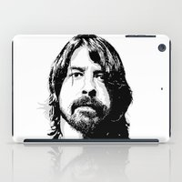 dave grohl iPad Cases featuring DAVE... by mabuna