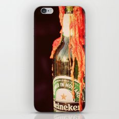 Candle wax in a Bottle iPhone & iPod Skin