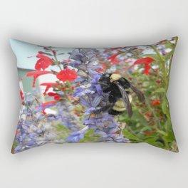 Happy Bumblebee  Rectangular Pillow
