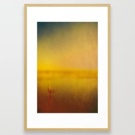 Gull Framed Art Print