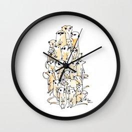 Wild Family Series - Meerkat Wall Clock
