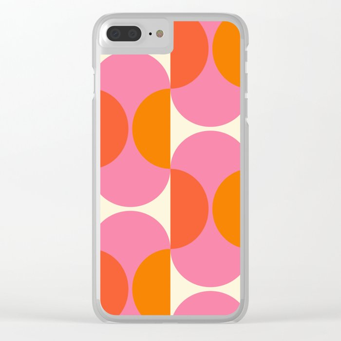 Capsule Sixties Clear iPhone Case