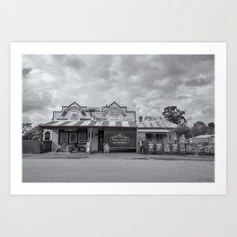 Monegeetta General Store Art Print