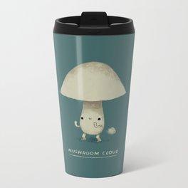 mushroom cloud Metal Travel Mug