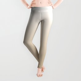 White Tan Ombre Leggings