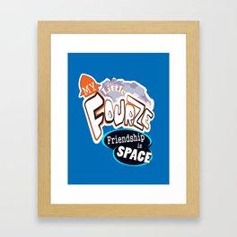 My Little Fourze! Framed Art Print