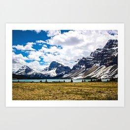 Bow Lake Art Print