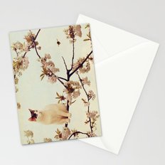 Cat in tree  Stationery Cards