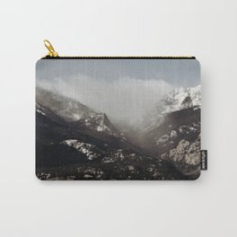 Snow Clouds Carry-All Pouch
