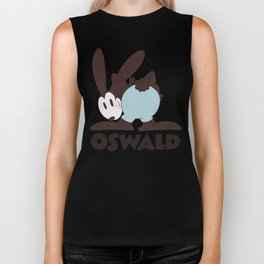Oswald The Lucky Rabbit: The End (technicolor) Biker Tank