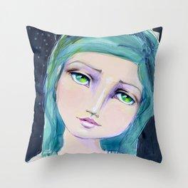 Dreamer by Jane Davenport Throw Pillow