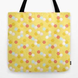Honeycomb - Sunshine Yellow Tote Bag