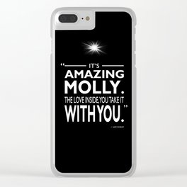 Its Amazing Molly Clear iPhone Case