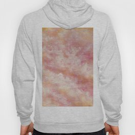 Abstract Sunset Cloud Painting Hoody