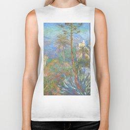 "Claude Monet ""Villas at Bordighera"" Biker Tank"