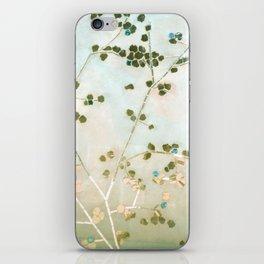 mosaica glitterati in blue + gold iPhone Skin