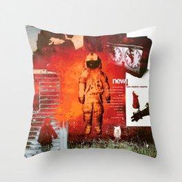 Brand New- Album Art Collage Throw Pillow
