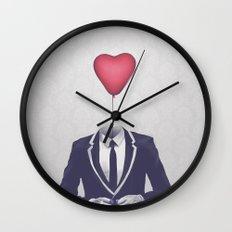 Mr. Valentine Wall Clock