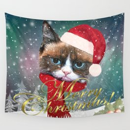 ~ Meowy Christmas ~ Wall Tapestry