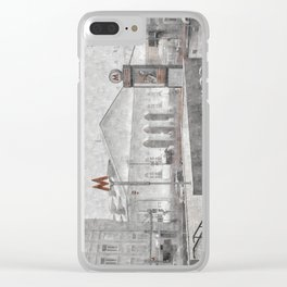 Lenin's Library. Moscow Clear iPhone Case