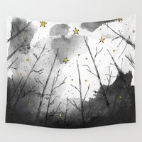 woods Wall Tapestries featuring Woods by Dnzsea