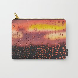 Rainy, Cozy Sunset Carry-All Pouch
