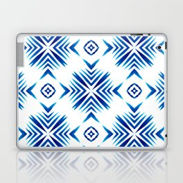 Shibori Blue Watercolour No.15 Laptop & iPad Skin