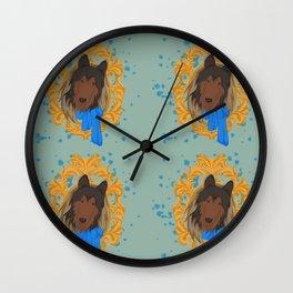 CollieFox Wall Clock