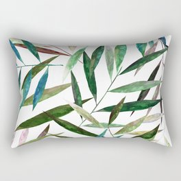 Bamboo Leaves Rectangular Pillow
