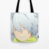 dmmd Tote Bags featuring Clear by Liyu