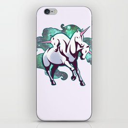 3 Headed unicorn iPhone Skin