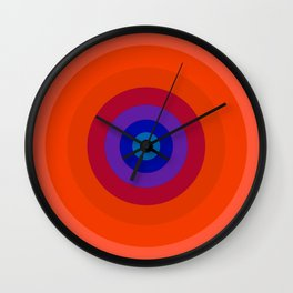 Lighter Bullseye Wall Clock