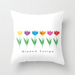 Tulips KT Throw Pillow