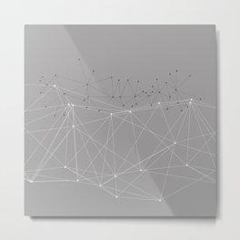 LIGHT LINES ENSEMBLE X Metal Print
