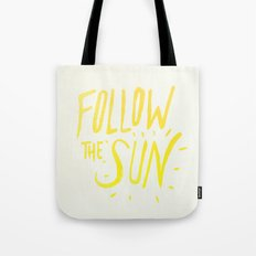 Follow the Sun Tote Bag