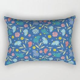 Garden Flowers Style F Rectangular Pillow
