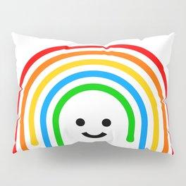 Drippy rainbow Pillow Sham