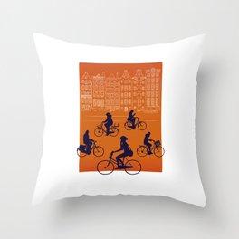Amsterdam Throw Pillow