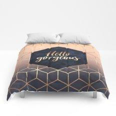 Hello Gorgeous Comforters