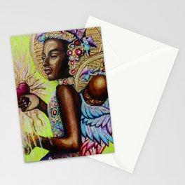 Black Madonna  Stationery Cards