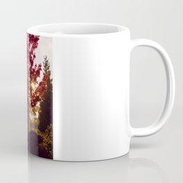 Fall Sunrise in the Fog Coffee Mug