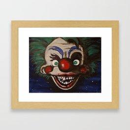 Killer Klowns From Outer Space Framed Art Print