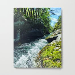 Vermont is Gorges Metal Print