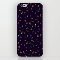 sparkles iPhone & iPod Skins featuring Sparkles by DanBee Kim
