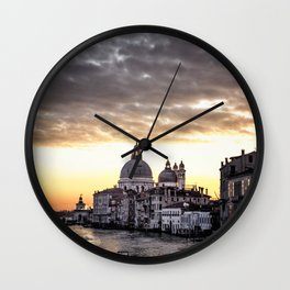 A view of Venice Wall Clock