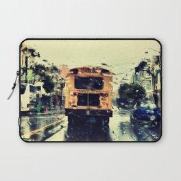 frisco kid // yellow bus Laptop Sleeve
