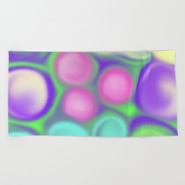 Fruity colours Beach Towel
