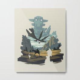 The Knight Metal Print